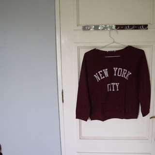 Sweater NYC (pull & bear)