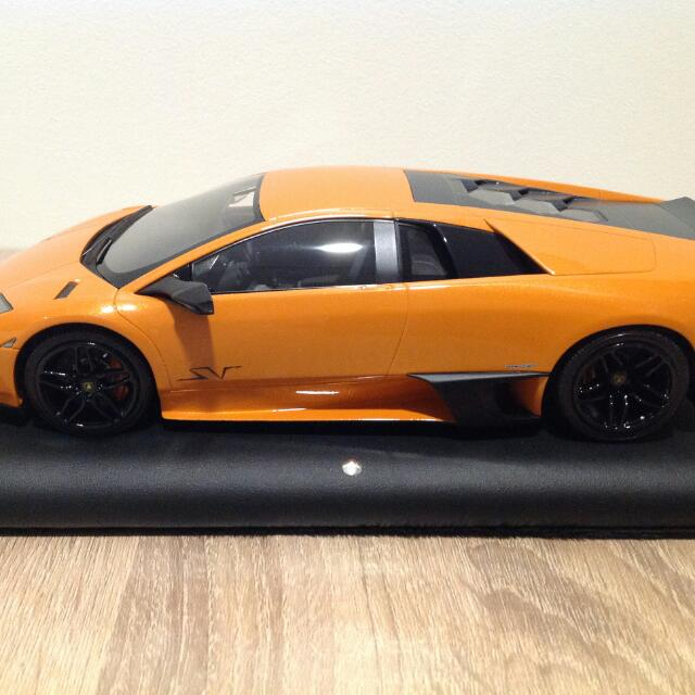 1 18 Mr Collection Models Lamborghini Murcielago Lp670 4 Sv Fixed