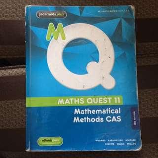 Maths Quest 11 Mathematical Methods CAS