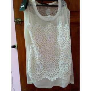 Atasan Lace Import