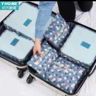 Korean 6 in 1 Travel Organizer