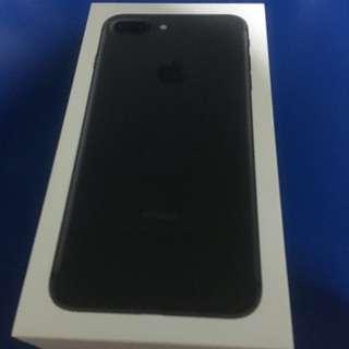 Brand New Iphone 7 Plus Matt Black