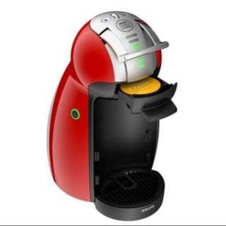 (買機器+膠囊5盒)雀巢 Dolce Gusto 膠囊咖啡機 Genio I+5盒膠囊