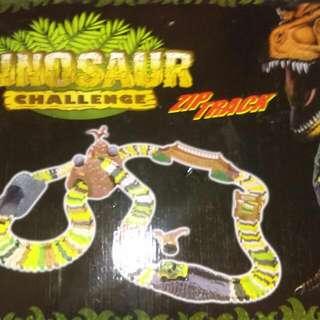 Dinosaur Car Track
