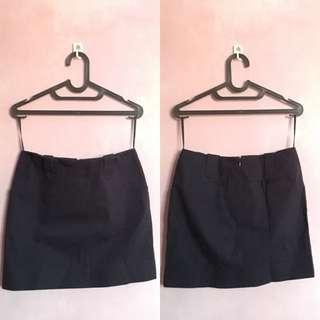 INC Mini Navy Skirt