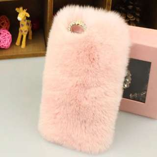 iPhone 6/S Pink Fluffy Case