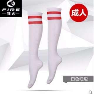 全新含運!!男女可用 足球運動長襪子 外拍造型襪