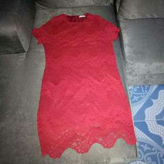 Red Lace Dress (Unica Hija)