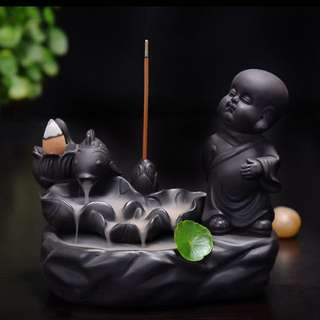 Monk Sandalwood Incense Burner
