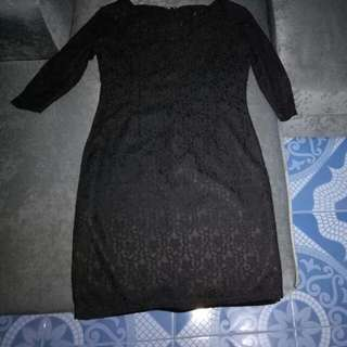 Black Lace Dress (Karimadon)