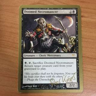 Doomed Necromancer Magic The Gathering