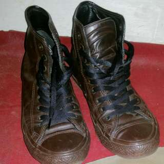 Converse Unisex High Brown Size Us 7