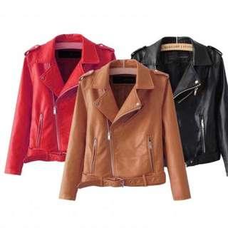 Leather Jacket Kendall Jenner (Jaket kulit)