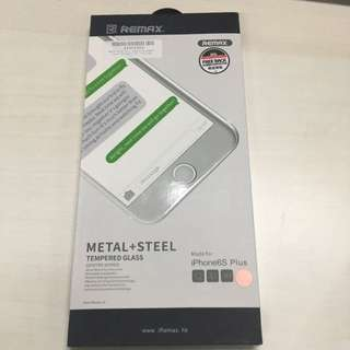 Remax Tempered Glass (Metal + steel) Iphone 6/6s Plus