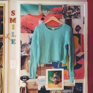 Baby Blue Witchery Sweater