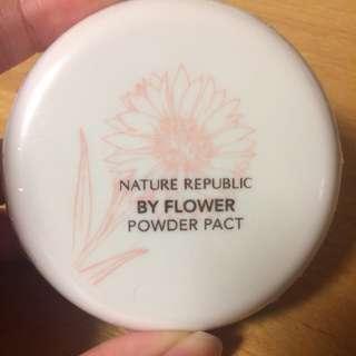 Nature Republic花漾蜜粉餅#21