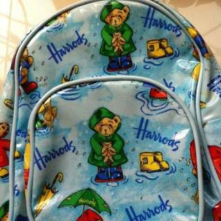 Harrods Toddler Bag (suitable for nursery kids)