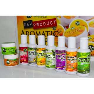 Aroma Therapy Oils and Aromatic Rub