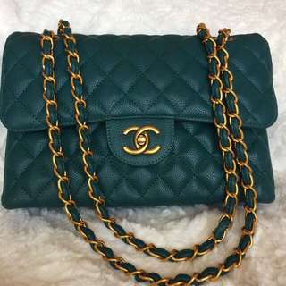 Green Forest Chanel Bag