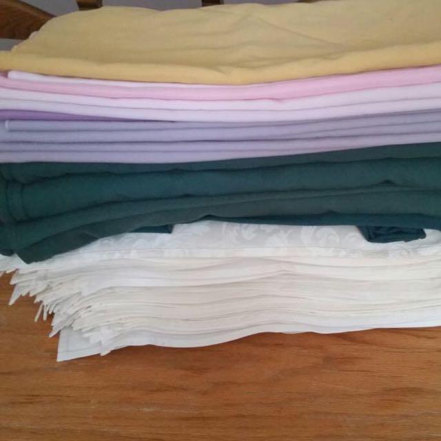 200+ Assorted Table Napkins For Sale