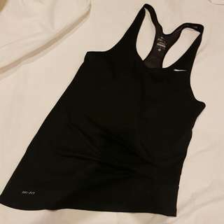 Assymetrical Nike Top
