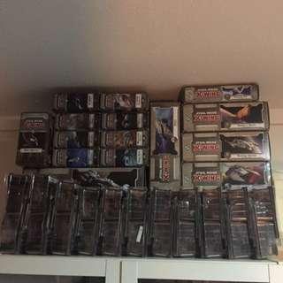 Star Wars Xwing Miniature Full Set