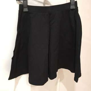 Black A Line Skirt x 2