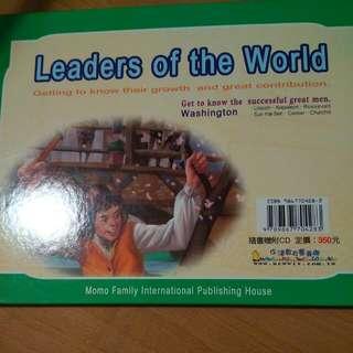 世界領袖中英合訂版附CD