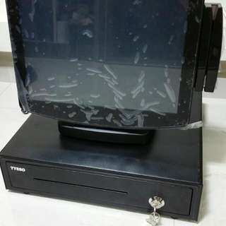 POS Station, Cash drawer and Printers