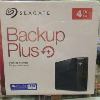 Harddisk (HDD) External Seagate 4TB 3,5""