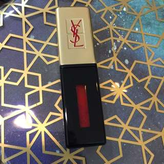 Repriced! Ysl Glossy Stain - Vernis A Levres #11