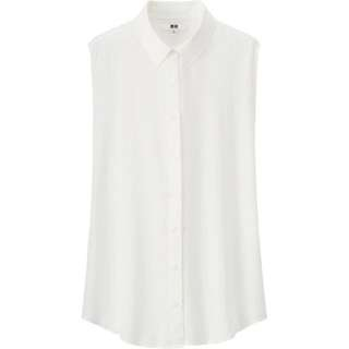 Uniqlo Rayon Short-sleeved Top