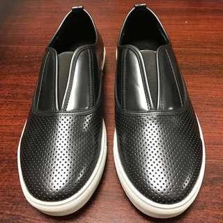 Herls shoes 個性拼接休閒 平底 休閒鞋