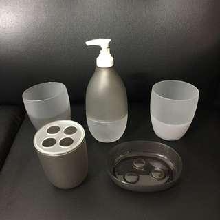 衛浴用品5件組