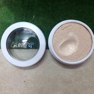 Authentic Colourpop Lunch Money Super Shock Cheek Pearlized Highlighter