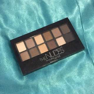 REPRICE! The Nudes Eye Shadow Maybelline