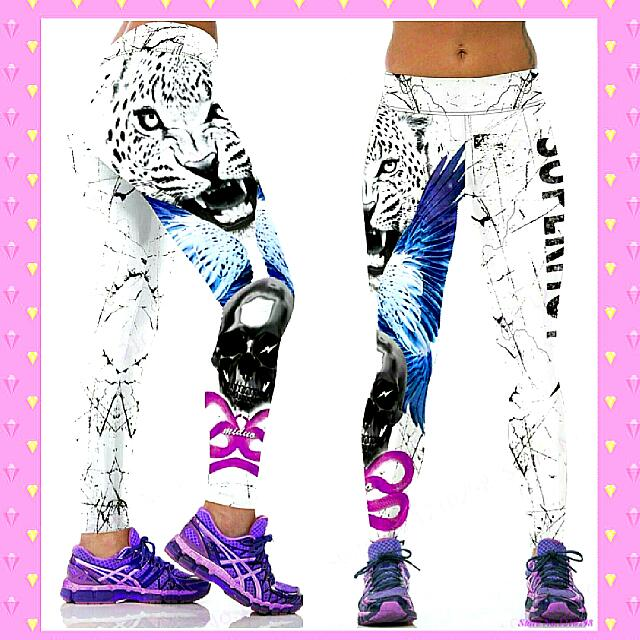 DROPPED TO $16 For 48 Hours 😍 3D Print Fitness Tights/leggings Brandnew, Size 10. $20