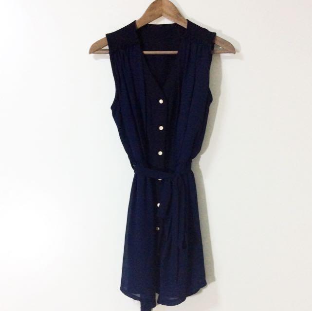 近新 3ways異材質洋裝 洋裝 異材質拼接
