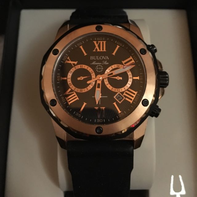 98B104 Men's Bulova Marine Star Chronograph Watch