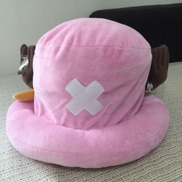 粉紅喬巴玩具帽