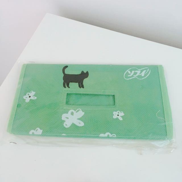 貓咪面紙套贈送