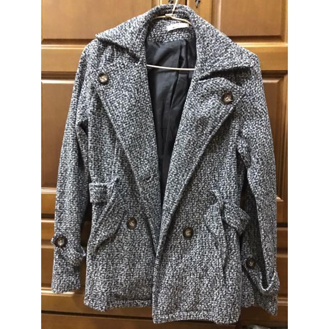 灰色大衣⛄️⛄️⛄️⛄️⛄️