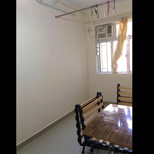 深水埗 開放式單位 150呎 獨立廚廁 租4800元