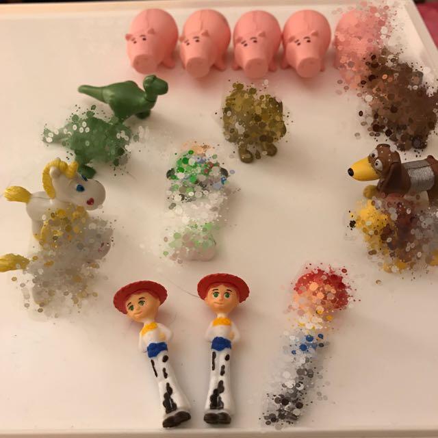 迪士尼 玩具總動員 巧克力蛋玩具 單售