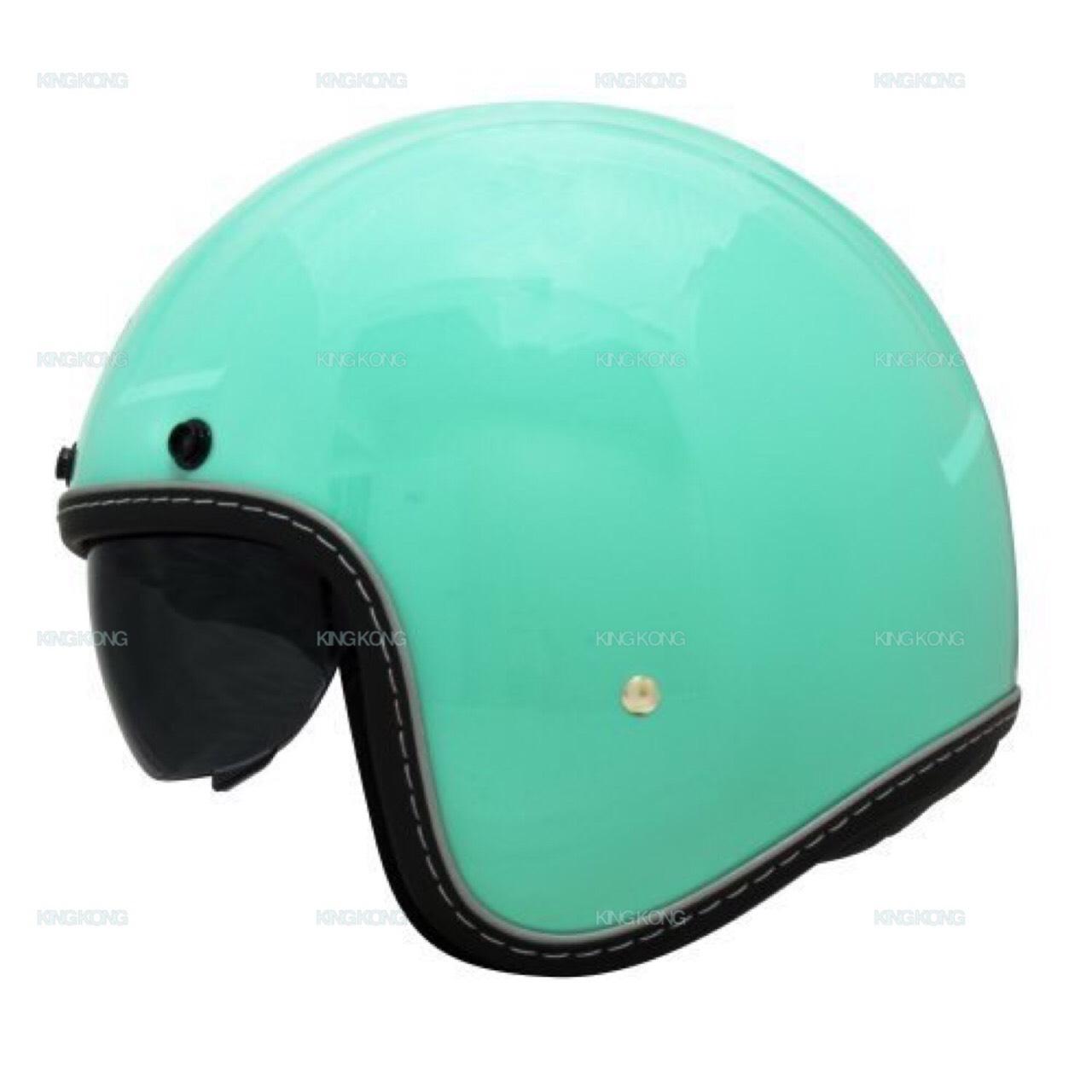 【金剛安全帽】(買一送一 買就送鏡片)THH-T300 騎士帽內藏墨鏡 哈雷/偉士牌/Gogoro/復古帽/3M反光條