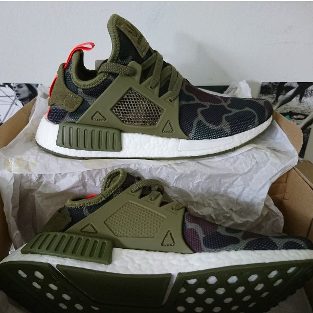 new arrival 71d56 071a4 Adidas NMD XR1 DUCK CAMO Green Olive Cargo