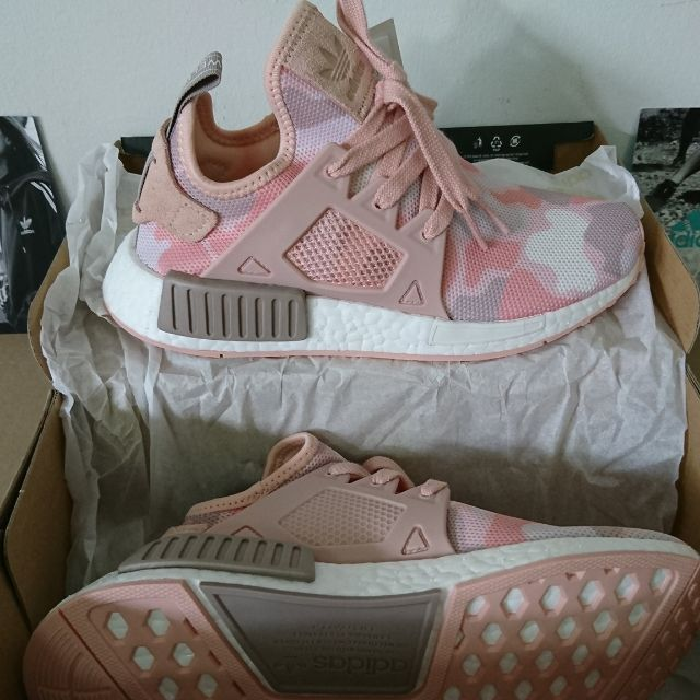 06ffe00b0c0f9 Adidas NMD XR1 DUCK CAMO Pink, Sports, Sports Apparel on Carousell
