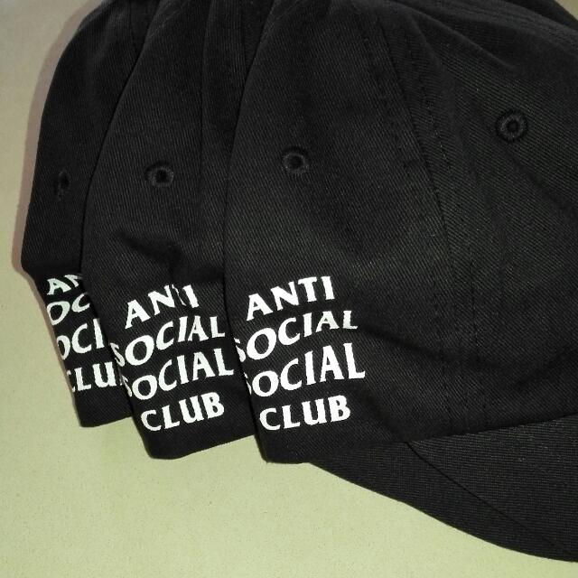 ASSC Weird Black Cap
