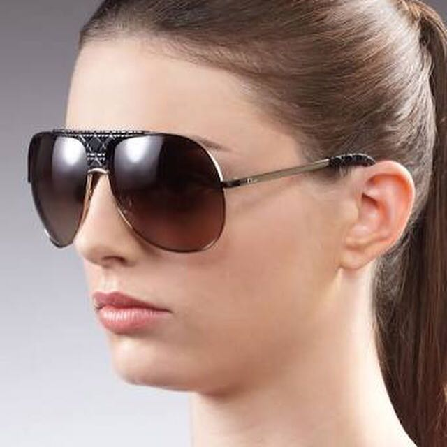 Authentic Lady Dior aviators Sunglasses