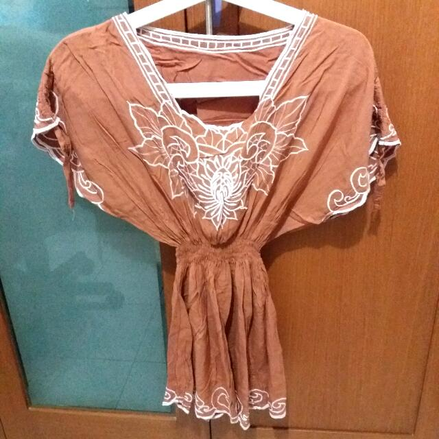 Bali Shirt Brown